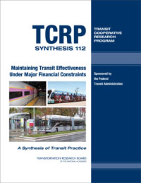 Maintaining Transit Effectiveness Under Major Financial Constrai