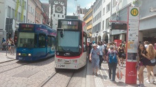 Freiburg's city center