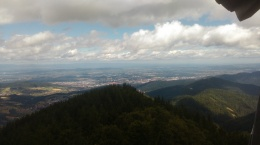 Freiburg seen from the Black Forest