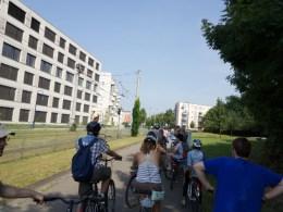 Bike tour of sustainable neighborhoods in Freiburg