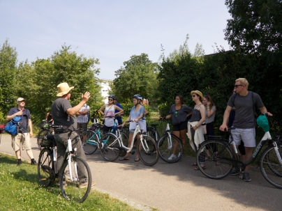 Bike tour of sustainable neighborhoods in Freiburg