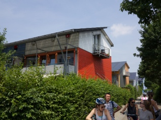 Energy-plus homes in Freiburg