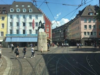 Car Free Zone in Freiburg's City Center